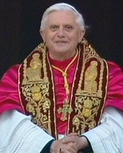 Pope at present time, Pope Benedict XVI